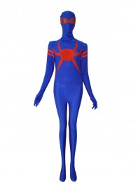 Special Royal Blue & Red Spandex Spider-man Superhero Costume