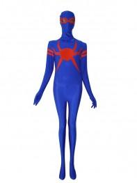 Special Royal Blue & Red Spandex Spider-man Superhero Costume