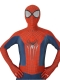 2014 The New Amazing Spider-Man 2 Costume 3D Spiderman Costume