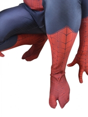 2015 New Ultimate Spider-Man 3D Shade Pattern Superhero Costume
