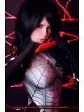 Silk Spider morph suit Silk Cindy Moon Spider Costume