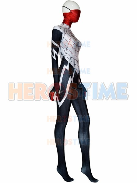 Spider morph suit Silk Cindy Moon Spider Costume