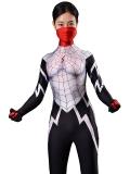 Silk Spider morph suit Silk Cindy Moon Spider Costume