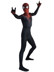 The Superior Spider-Man Costume Black Red Spider Morph Fullbody Suit