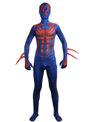 Spider-man 2099 Costume  Halloween Morph Fullbody Suit