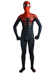 Superior Spider-Man Costume Black Red Superior Spiderman Suit
