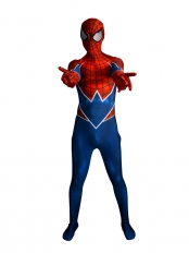 Spider-Punk Costume 3D Printing Punk-Rock Spider-man Costume