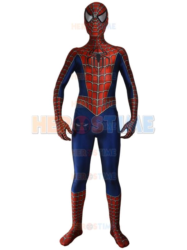 raimi spiderman costume 3d printed cosplay suit