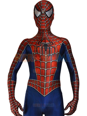 Raimi Spider-man Costume 3D Printed Cosplay Suit