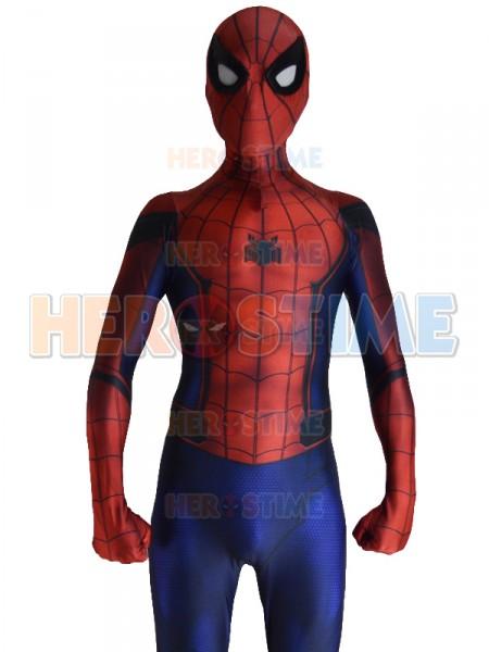 Civil War Spiderman Costume 3D Shade Cosplay Suit