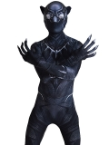 Civil War Black Panther Costume 3D Shade Cosplay Suit