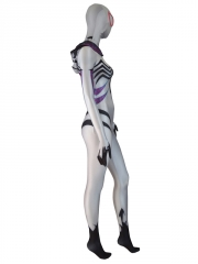 Venom Gwen Costume White Anti Gwenom Girl Cosplay Suit