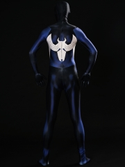Shattered Dimensions Ultimate Spider-Man Costume Blue Spiderman Cosplay Suit