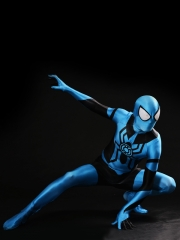 Blue Lantern Spiderman Costume Hybrid Spidey Cosplay Suit