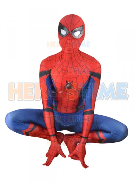 Spider-Man Homecoming Costume New Spiderman Cosplay Suit
