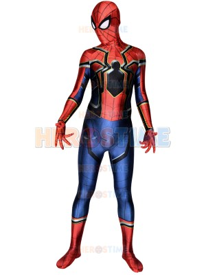 Spider-Man Homecoming Costume Iron Spider Cosplay Suit
