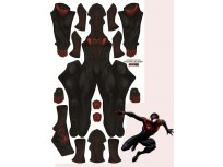 Amazing Spider-man 2 Miles Morales Superhero Costume
