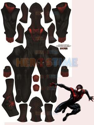 Amazing Spider-man 2 Miles Morales Superhero Costume