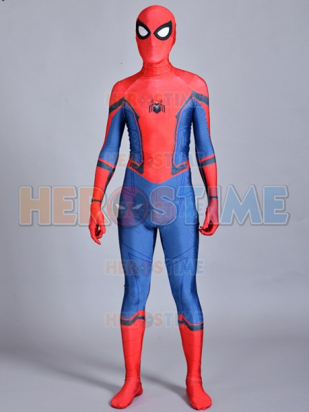 Spider-Man Homecoming Costume Brighter Version Spiderman Suit