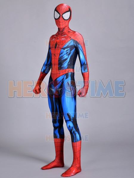 & Spiderman Suit Ultimate Spiderman Costume