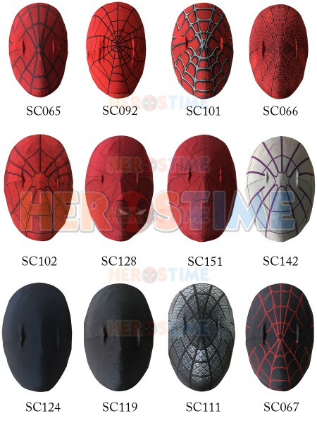 Spider-Man Suit Mask Only Custom-Making Link