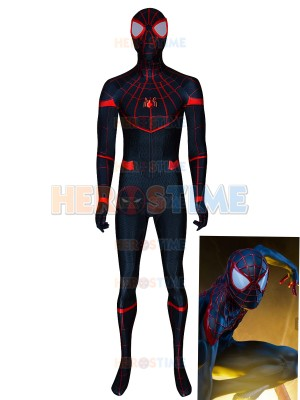 Homecoming Miles Morales MCU Spiderman Cosplay Costume