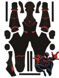 Homecoming Miles Morales MCU Spiderman Cosplay Costume