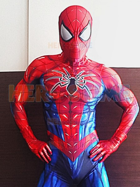 Spider-Man Costume All-New Spider-Man Suit & Spiderman Costume | 2017 Spandex Spider-man Costumes for Halloween ...