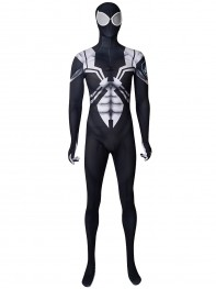 Agent Venom Ultimate Spider-Man Animated Printing Cosplay Costume