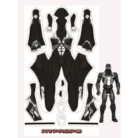 Agent Venom Ultimate Spider-Man Animated Printing Cosplay Costume