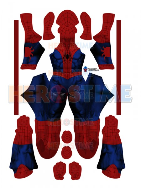 sc 1 st  Herostime.com & Spider-Man Costume Mi Ultimate Spider-Man Suit