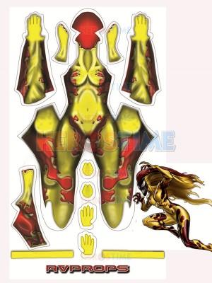 Scream Donna Diego Symbiote Spawns Supervillain Cosplay Costume