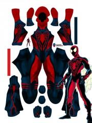 Spider-Man Costume Unlimited Spider-Man Cosplay Suit