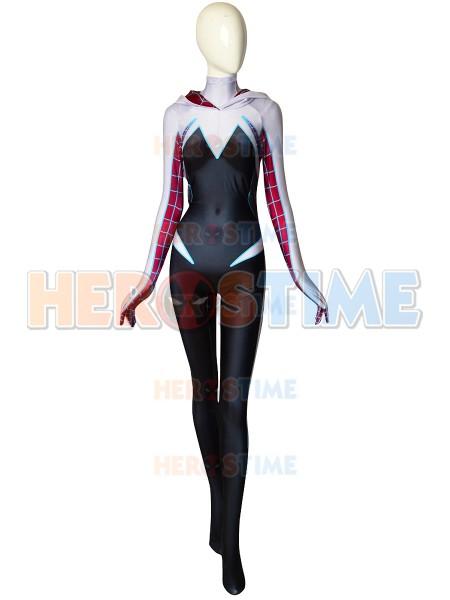 Gwen Stacy Spider-Man Costume Ghost-Spider Cosplay Costume