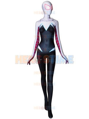 Gwen Stacy Spider-Man Costume Ghost-Spider Cosplay Costume Adult & Kid