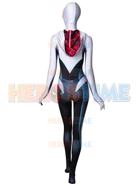 Gwen Stacy Spider-Man Costume Ghost-Spider Cosplay Costume