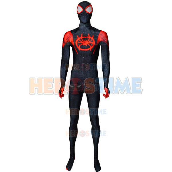 Miles Morales Costume Spider Man Into The Spider Verse Costume