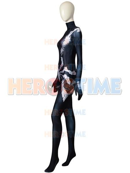 Spider-Man Costume Symbiote Mary Jane Cosplay Costume