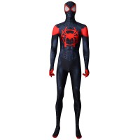 Miles Morales Costume Miles Animated Version Cosplay Costume