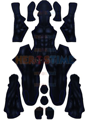 Black Panther 2018 Film Version Costume No Silver