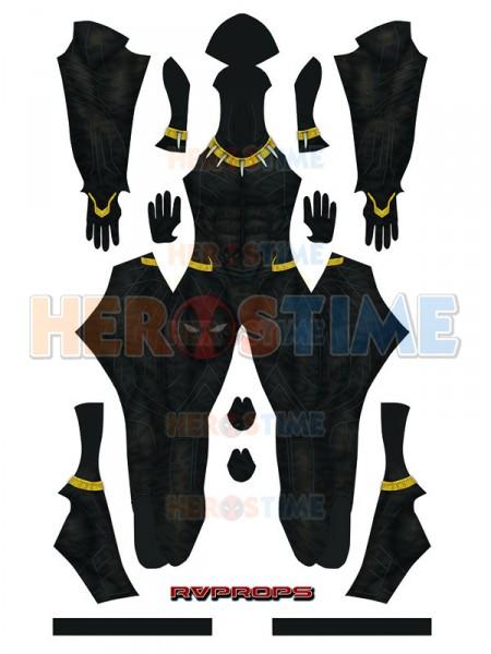 2018 Erik Killmonger Black Panther Gold Version Printing Superhero