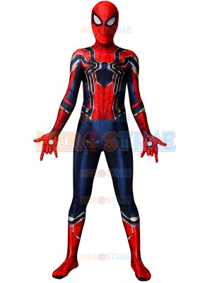 Spider-Man Costume Iron Spider MCU Version 3 Superhero Costume