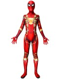 Spider-Man Costume MCU Iron Spider Red & Gold Version Costume