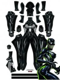 Venom 2018 She-Venom Anne Weying Printed Costume