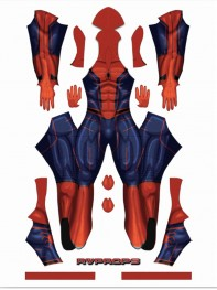 IW Spider-man Suit Concept Avengers: Infinity War Spider-man Cosplay Costume
