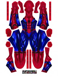 MCU Spider Suit Spider-man Concept Art Cosplay Costume