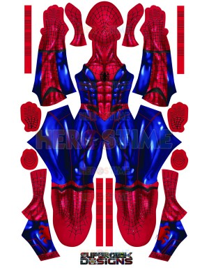 MCU Spider Suit Spider-man Concept Art Cosplay Costume