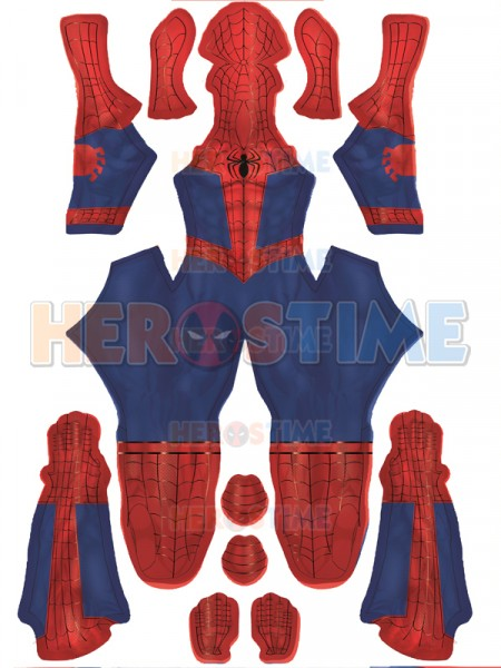 Spiderman: Into the Spider-Verse Peter Parker Costume