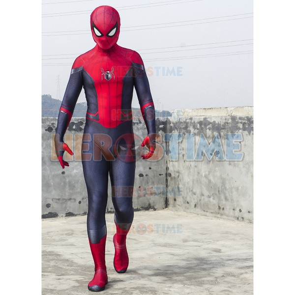 Spider Man Far From Home Cosplay Costume Adult And Kid Spider Suit