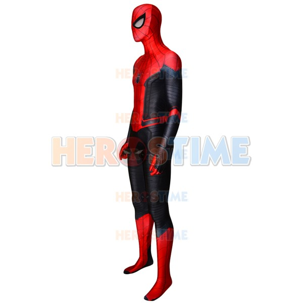 Spider Man Far From Home Spiderman Costume Kids Adult Cosplay Halloween Costume
